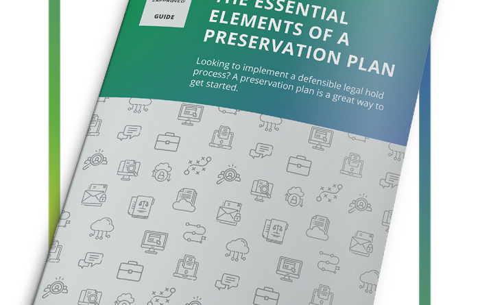 The Essential Elements of a Preservation Plan